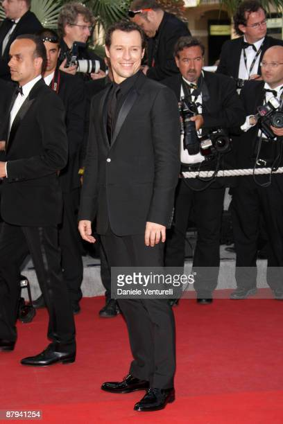 Actor Stefano Accorsi attends the 'Face' Premiere at the Grand Theatre Lumiere during the 62nd Annual Cannes Film Festival on May 23 2009 in Cannes...