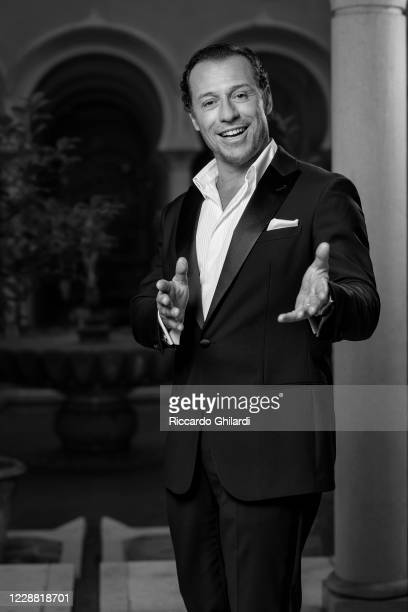 Actor Stefano Accorsi poses for a portrait during the 77th Venice Film Festival on September 12 2020 in Venice Italy