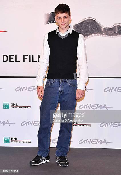 Actor Stefano Rabatti attends the Ali Ha Gli Occhi Azzurri Photocall during the 7th Rome Film Festival at the Auditorium Parco Della Musica on...