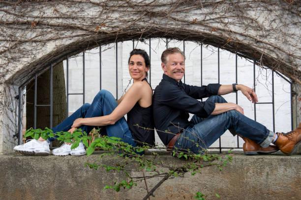 DEU: Steffen Wink And Genoveva Mayer Portrait Shooting In Munich