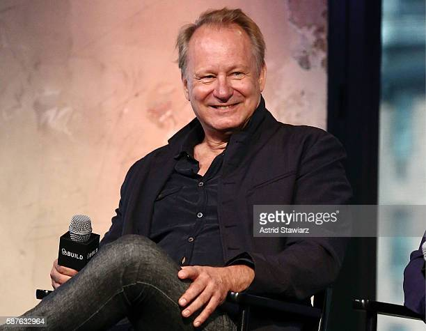Actor Stellan Skarsgard discusses his new film In Order Of Disappearance at AOL HQ on August 9 2016 in New York City