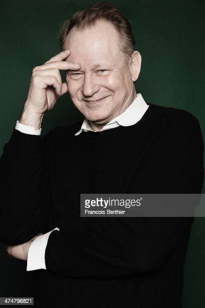 Actor Stellan Skarsgard is photographed for Self Assignment on February 11 2014 in Berlin Germany