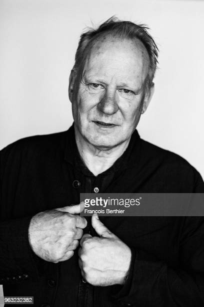 Actor Stellan Skarsgard is photographed for Self Assignment on May 2018 in Cannes France