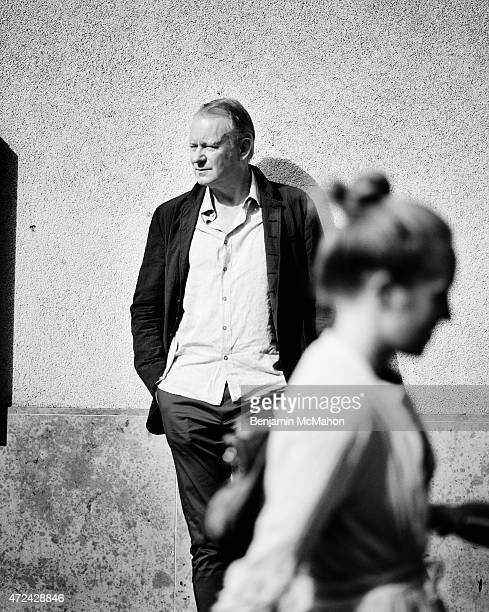 Actor Stellan Skarsgard is photographed for the Telegraph on August 1 2014 in London England
