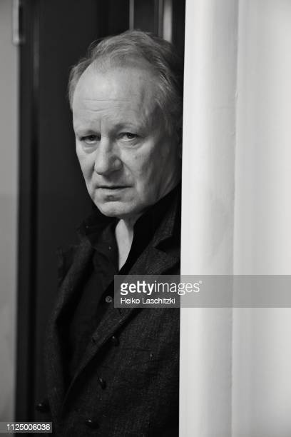 Actor Stellan Skarsgard poses for a portrait during the 69th Berlinale International Film Festival on February 10 2019 in Berlin Germany