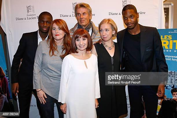 Actor Stephane Bak Director MarieCastille MentionSchaar CEO of Lucien Barriere Group Dominique Desseigne actress Ariane Ascaride the history...