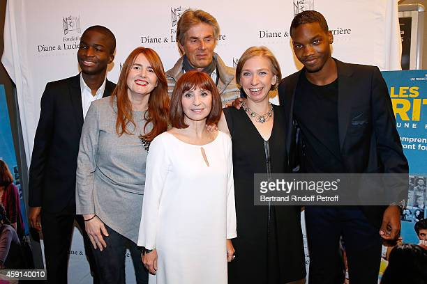 Actor Stephane Bak Director MarieCastille MentionSchaar CEO of Lucien Barriere Group Dominique Desseigne actress Ariane Ascaride the history...