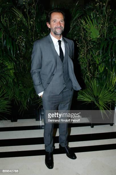 Actor Stephane de Groodt attends the Diner des Amis de Care at Hotel Peninsula Paris on October 9 2017 in Paris France