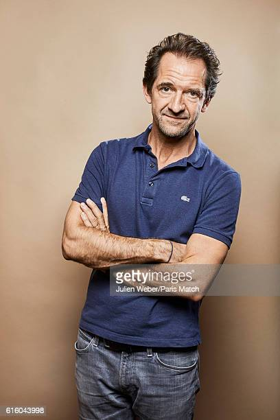 Actor Stephane De Groodt is photographed for Paris Match on September 30 2016 in Paris France
