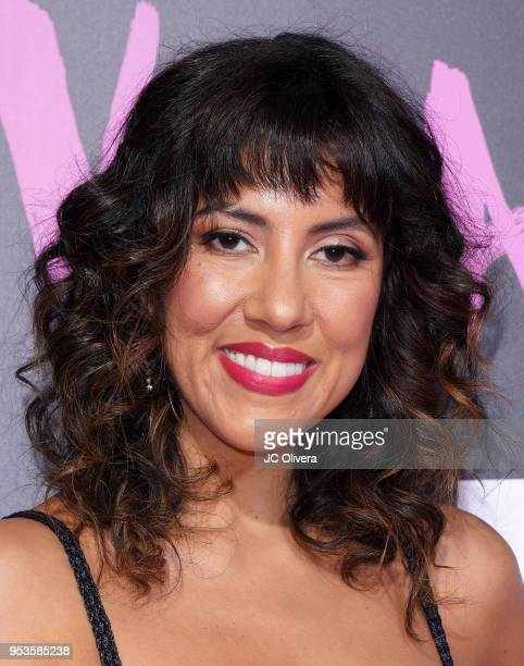 Actor Stephanie Beatriz attends Starz 'Vida' premiere at Regal LA Live Stadium 14 on May 1 2018 in Los Angeles California