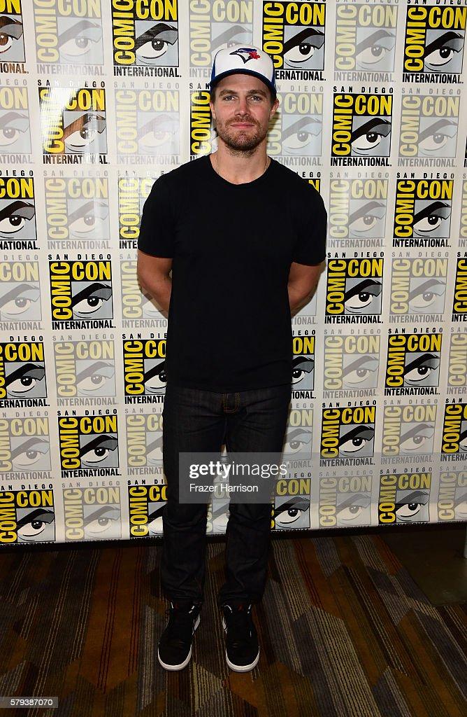 "Comic-Con International 2016 - ""Arrow"" Press Line"