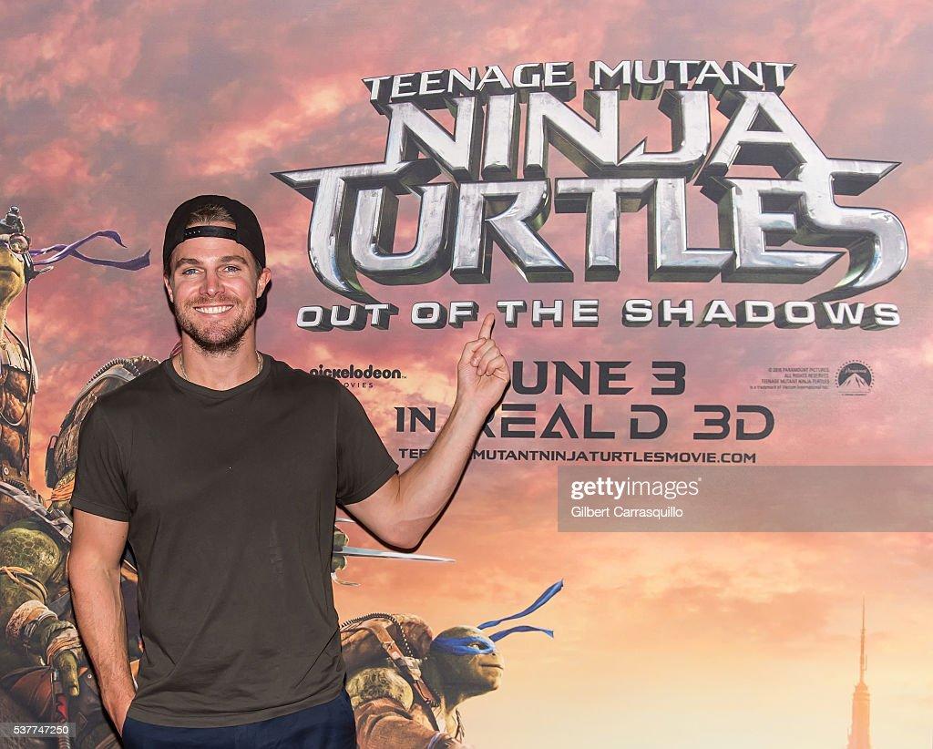 """Teenage Mutant Ninja Turtles: Out Of The Shadows"" Philadelphia Screening : News Photo"