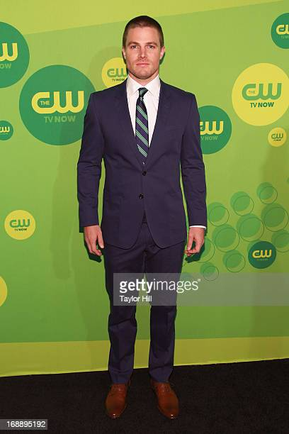 Actor Stephen Amell attends The CW Network's New York 2013 Upfront Presentation at The London Hotel on May 16 2013 in New York City