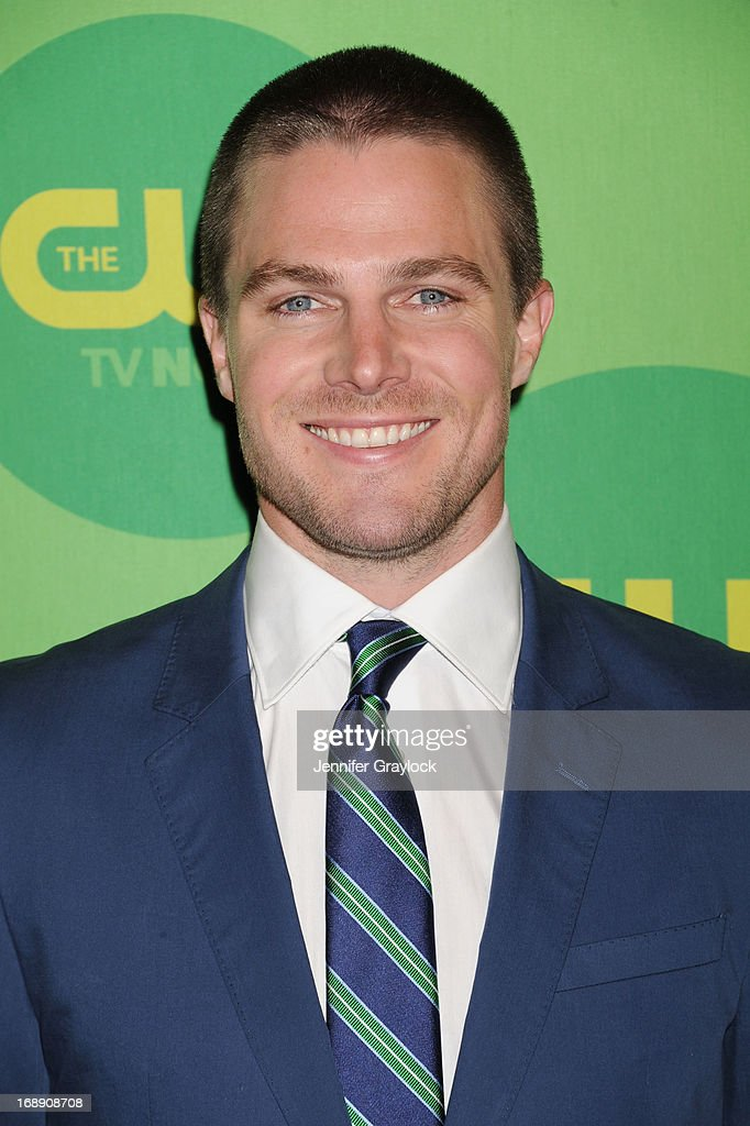 Actor Stephen Amell attends The CW Network's New York 2013 Upfront Presentation at The London Hotel on May 16, 2013 in New York City.