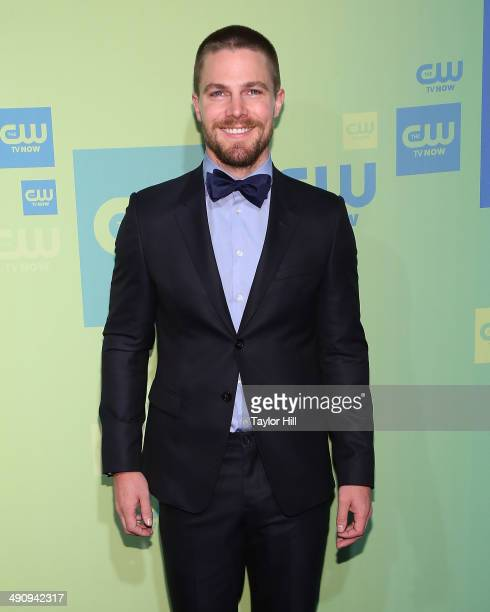 Actor Stephen Amell attends the CW Network's New York 2014 Upfront Presentation at The London Hotel on May 15 2014 in New York City