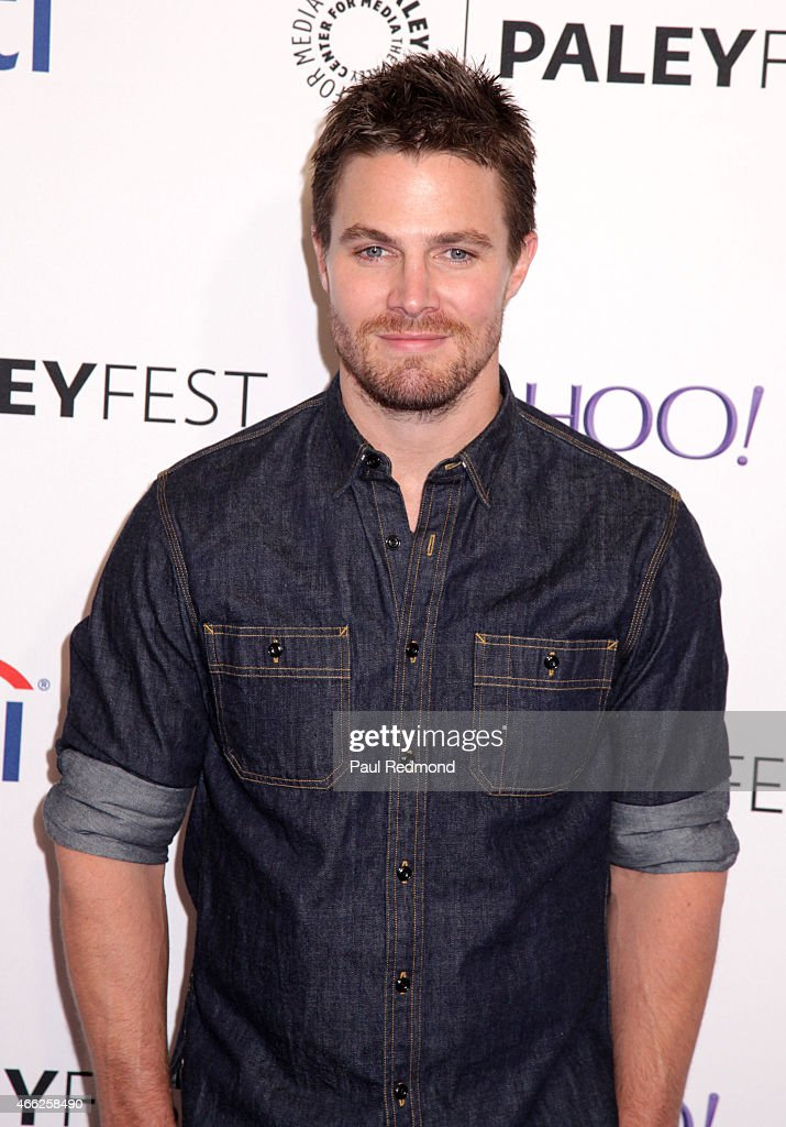 Actor Stephen Amell attends The Paley Center For Media's 32nd Annual PALEYFEST LA - 'Arrow' And 'The Flash' at Dolby Theatre on March 14, 2015 in Hollywood, California.
