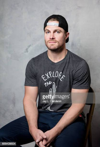 Actor Stephen Amell from CW's 'Arrow' is photographed for Los Angeles Times on March 18 2017 in Los Angeles California PUBLISHED IMAGE CREDIT MUST...