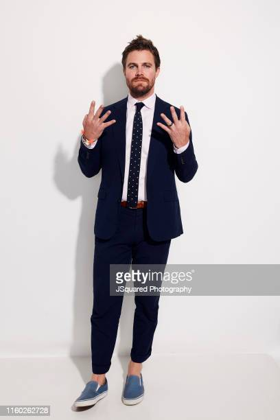 Actor Stephen Amell of The CW's 'Arrow' poses for a portrait during the 2019 Summer TCA Portrait Studio at The Beverly Hilton Hotel on August 04 2019...