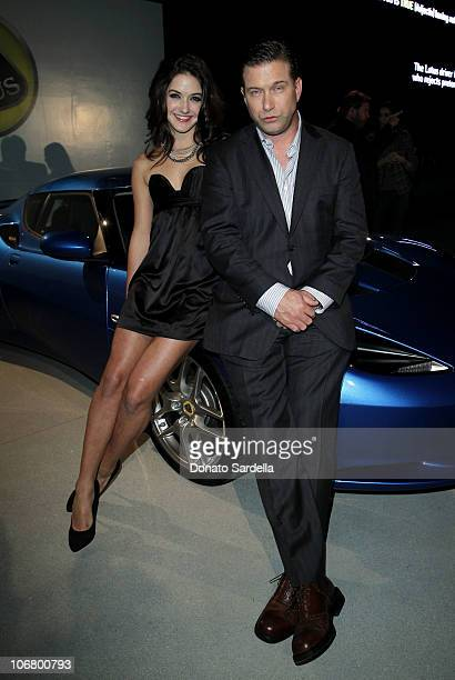 Actor Stephen Baldwin and daughter Alaia Baldwin attend the US Launch Event for New Lotus Cars at a private residence on November 12 2010 in Los...