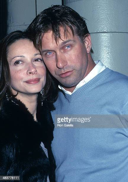 """Actor Stephen Baldwin and wife Kennya attend Jive Records Hosts Release Party for Britney Spears' New Album """"Britney"""" on November 6, 2001 at..."""