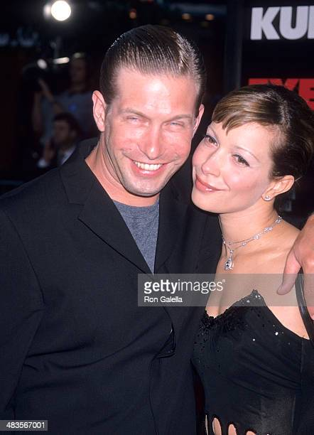Actor Stephen Baldwin and wife Kennya attend the Eyes Wide Shut Westwood Premiere on July 13 1999 at the Mann Village Theatre in Westwood California