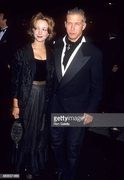 Actor Stephen Baldwin and wife Kennya attend the Fifth Annual Fire Ice Ball to Benefit the Revlon/UCLA Women's Cancer Research on December 7 1994 at...