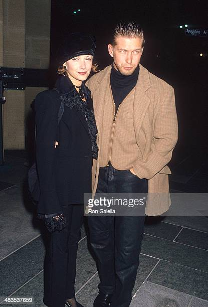 """Actor Stephen Baldwin and wife Kennya attend the """"Mrs. Parker and the Vicious Circle"""" Los Angeles Premiere on December 15, 1994 at the Los Angeles..."""