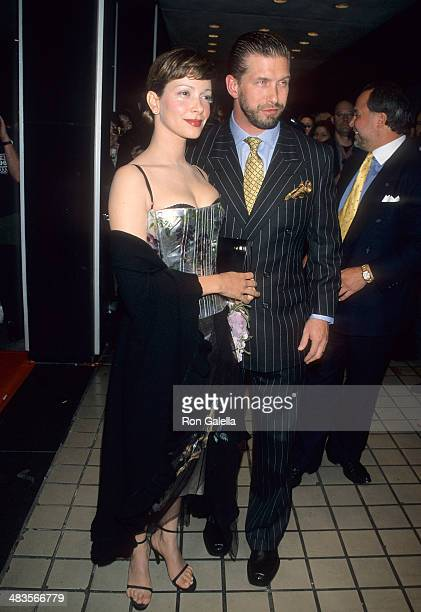 """Actor Stephen Baldwin and wife Kennya attend the """"One Tough Cop"""" New York City Premiere on October 5, 1998 at City Cinemas Cinema 1 in New York City."""