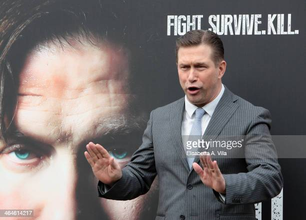 Actor Stephen Baldwin attends 'Sights Of Death' photocall al Villa Borghese on January 23 2014 in Rome Italy