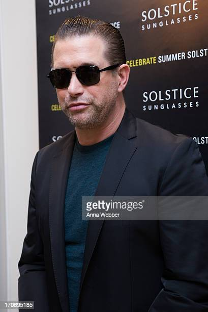 Actor Stephen Baldwin attends Solstice Sunglasses Annual Summer Soiree In Flatiron at Solstice Sunglass Boutique on June 19 2013 in New York City