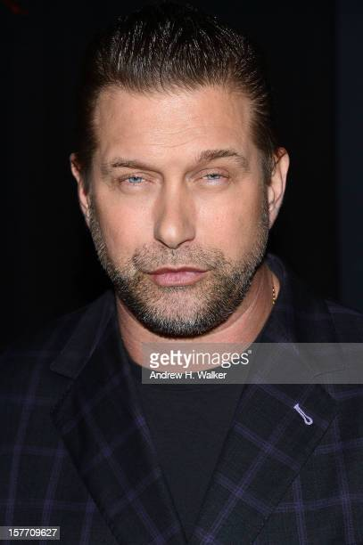 Actor Stephen Baldwin attends the Film District and Chrysler with The Cinema Society premiere of Playing For Keeps after party at Dream Downtown on...