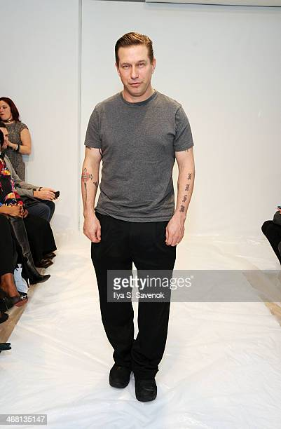 Actor Stephen Baldwin attends the Leanne Marshall fashion show during MercedesBenz Fashion Week Fall 2014 at Helen Mills Event Space on February 9...