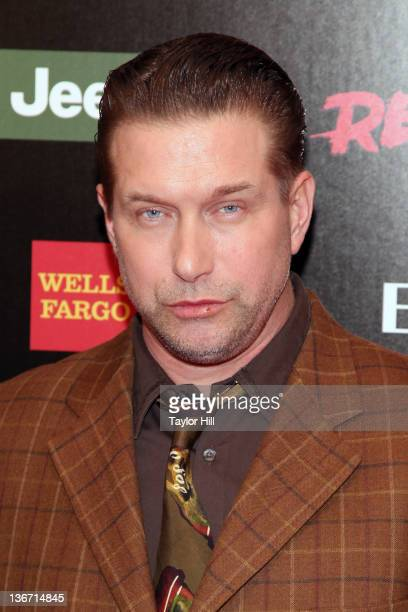 """Actor Stephen Baldwin attends the """"Red Tails"""" premiere at the Ziegfeld Theater on January 10, 2012 in New York City."""