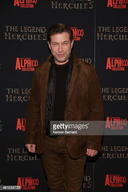 Actor Stephen Baldwin attends the 'The Legend Of Hercules' premiere at Crosby Street Hotel on January 6 2014 in New York City