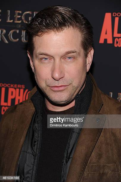 Actor Stephen Baldwin attends the The Legend Of Hercules premiere at the Crosby Street Hotel on January 6 2014 in New York City