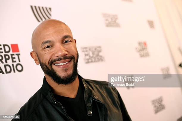 Actor Stephen Bishop attends Red Carpet Radio presented by Westwood One at Nokia Theatre LA Live on November 22 2014 in Los Angeles California