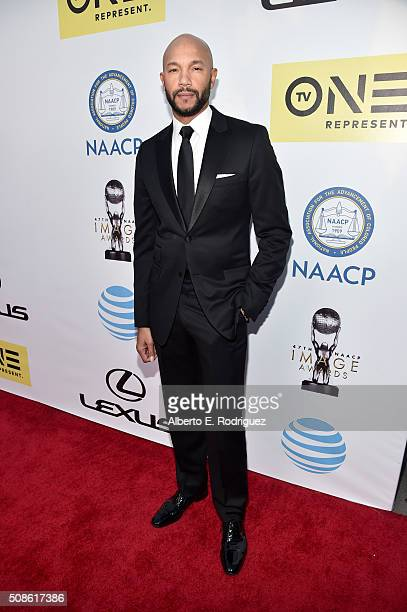 Actor Stephen Bishop attends the 47th NAACP Image Awards presented by TV One at Pasadena Civic Auditorium on February 5 2016 in Pasadena California