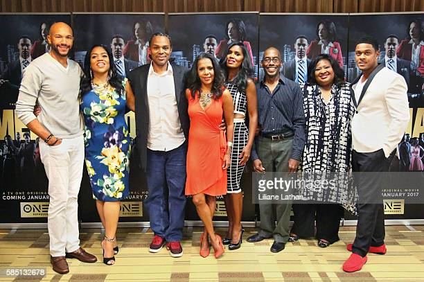 Actor Stephen Bishop Director Craig Ross Jr Actress Penny Johnson Actress Denise Boutte Writer Kevin Arkadie and Actor Pooch Hall arrive at The...