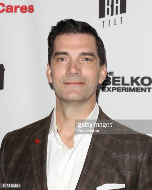 Actor Stephen Blackehart attends the screening of The Belko Experiment at Aero Theatre on March 3 2017 in Santa Monica California