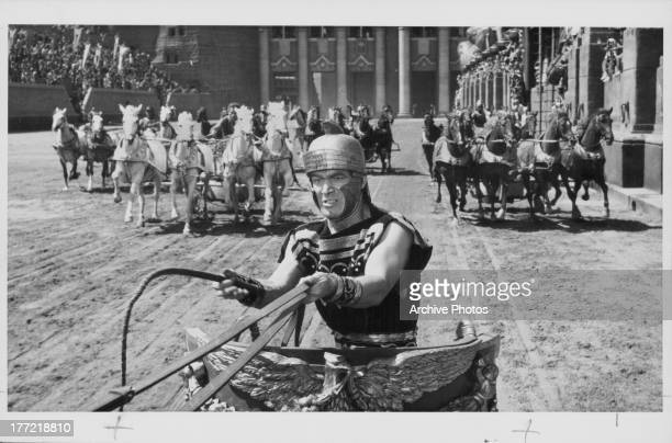 Actor Stephen Boyd in a scene from the movie 'Ben Hur' 1959
