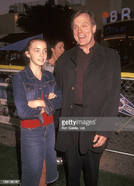 Actor Stephen Collins and daughter Kate Collins attend the 'Summer Catch' Westwood Premiere on August 22 2001 at Mann Village Theatre in Westwood...