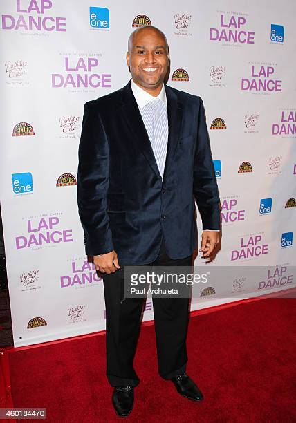 Actor Stephen Davis attends the Los Angeles premiere of Lap Dance at ArcLight Cinemas on December 8 2014 in Hollywood California