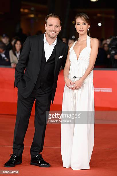 Actor Stephen Dorff and Jennifer Tse attend the 'The Motel Life' Premiere during the 7th Rome Film Festival at Auditorium Parco Della Musica on...