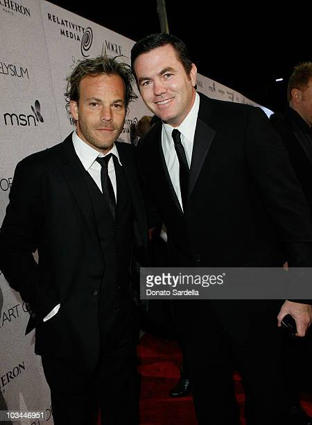 """Actor Stephen Dorff and Relativity Media President Tucker Tooley arrive at The Art of Elysium's 3rd Annual Black Tie Charity Gala """"Heaven"""" on January..."""