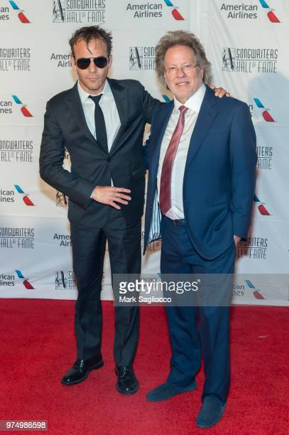Actor Stephen Dorff and Songwriters Hall of Fame Inductee Steve Dorff attend the 2018 Songwriter's Hall Of Fame Induction and Awards Gala at New York...