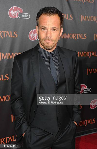 Actor Stephen Dorff arrives at Relativity Media's Immortals premiere presented in RealD 3 at Nokia Theatre LA Live at Nokia Theatre LA Live on...