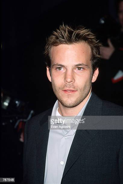 Actor Stephen Dorff poses for a picture outside the premiere of ''Earthly Possessions'' March 16 1999 in New York City Dorff stars in the film based...