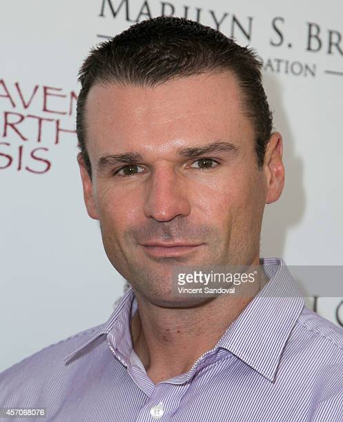 Actor Stephen Dunlevy attends the Heaven and Earth Oasis Charity fundraiser at Il Cielo on October 11 2014 in Beverly Hills California