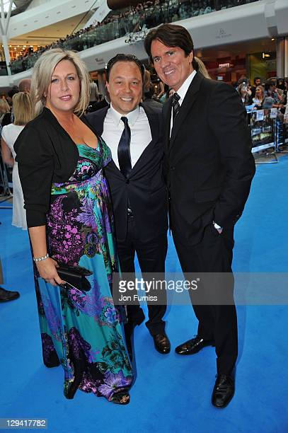 Actor Stephen Graham and director Rob Marshall arrive for the UK Premiere of 'Pirates Of The Caribbean On Stranger Tides' at Vue Westfield on May 12...