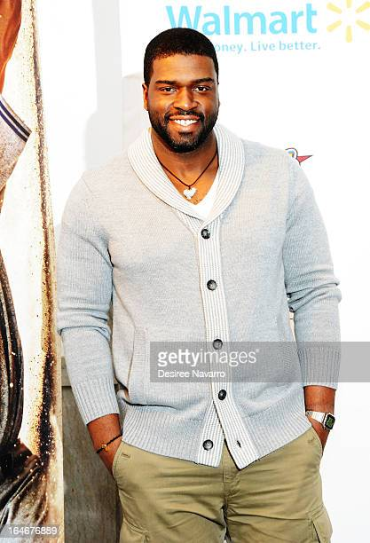 Actor Stephen Hill attends the 42 event honoring Jackie Robinson at the Brooklyn Academy of Music on March 25 2013 in New York City